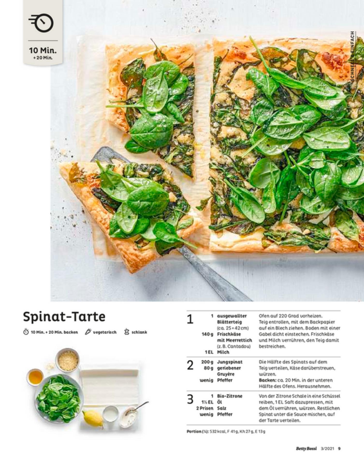 Spinat-Tarte