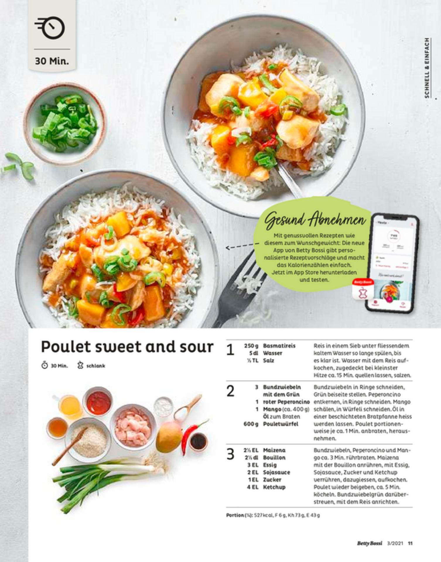Poulet sweet and sour